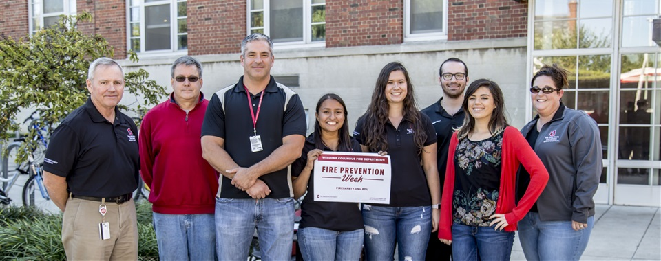 Fire Prevention Week presented by the Risk and Emergency Management Department